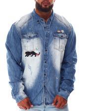 Men - Fire Fight Long Sleeve Woven Shirt (B&T)-2646527