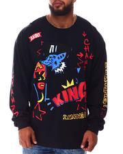 AKOO - Marker Long Sleeve T-Shirt (B&T)-2645871