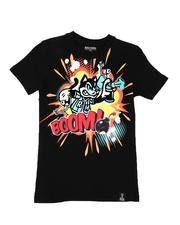 Rebel Minds - Boom Graphic Tee (8-20)-2646767