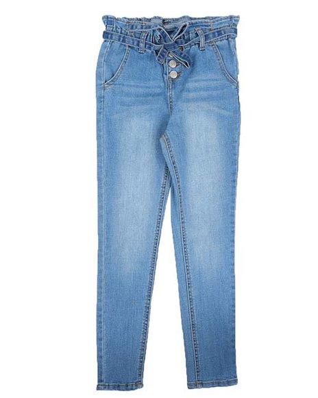 Wallflower Girl - Paperbag Waist Jeans (7-16)