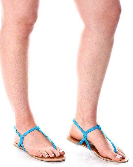 Fashion Lab - Braided Thong Sandals