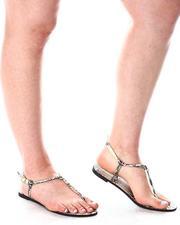 Fashion Lab - Snake Print Sandals-2643841