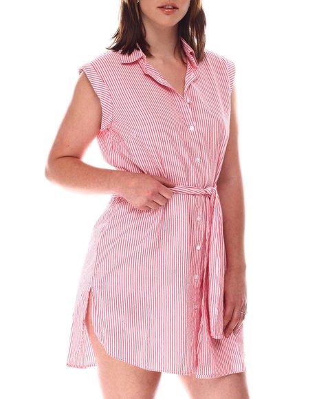 Fashion Lab - Smock Back Tie Front Dress