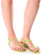 Fashion Lab - Snake Print Sandals-2643851