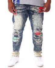Makobi - Shredded Jeans With Paint Splatter Spots (B&T)-2646249