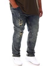 Buyers Picks - Speckle Paint Splatter Stone Denim Jean (B&T)-2646299