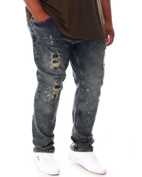 Buyers Picks - Speckle Paint Splatter Stone Denim Jean (B&T)