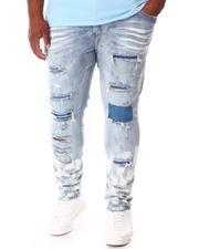 SMOKE RISE - Cut & Sew Denim Jeans (B&T)-2646382