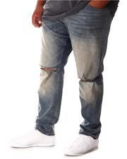 Jordan Craig - Rip Knee Washed Denim Jeans (B&T)-2646394