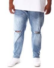 Buyers Picks - Rip Knee Washed Denim Jeans (B&T)-2646399