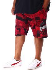 Ecko - Four Square Fleece Shorts (B&T)-2647683