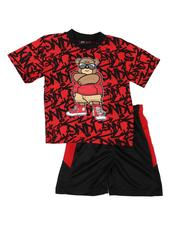 Sets - 2 Pc All Over Print Tee & Shorts Set (2T-4T)-2647975