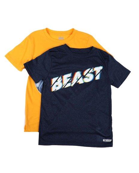HIND - 2 Pc Basketball & Beast Graphic Tee Set (8-18)