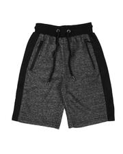 Bottoms - Marled French Terry Shorts (8-20)-2648438