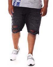 Jordan Craig - Distressed Ripped Denim Shorts (B&T)-2645614