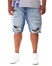 Jordan Craig - Distressed Ripped Denim Shorts (B&T)-2645634