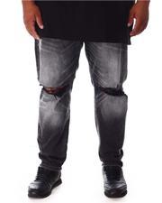Buyers Picks - Rip Knee Washed Denim Jeans (B&T)-2646404