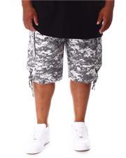 Big & Tall - Army Cargo Shorts (B&T)-2647138