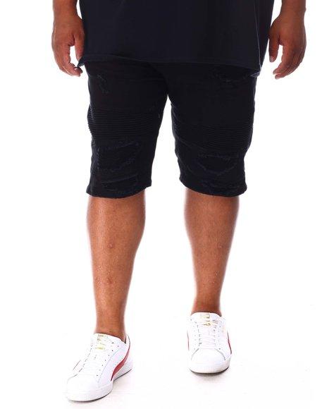 Makobi - Distressed Denim Shorts (B&T)