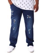 Buyers Picks - Rip & Repair Bandana Backed Denim Jeans (B&T)-2648531