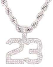 Jewelry & Watches - Rope Chain Necklace W/ 23 Pendant-2647451