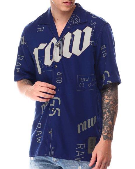 G-STAR - G-Star RAW Hawaiian Service Regular S/S Shirt