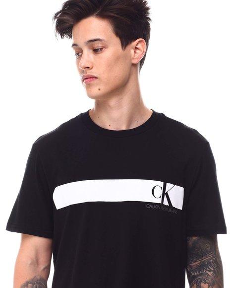 Calvin Klein - CK MONOGRAM CHEST BAND TEE