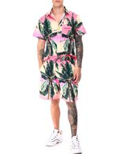 Stylist Picks - Palm Shirt Shorts Set-2649007