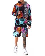 Stylist Picks - Safari Hoodie Mask Shorts Set-2649047