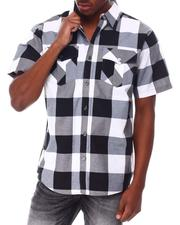 Buyers Picks - Yarn Dyed Plaid Short Sleeve Shirt-2650244