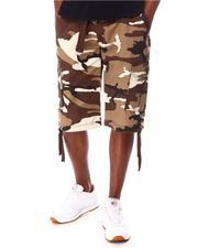 Buyers Picks - Washed City Camo Belted Cargo Shorts-2650278