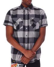 Buyers Picks - Yarn Dyed Plaid Short Sleeve Shirt-2649500