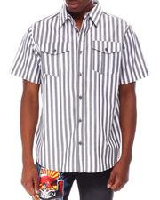 Buyers Picks - Stripe SS Woven Shirt-2649513