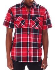 Buyers Picks - Candy Plaid SS buttonfront Shirt-2649507