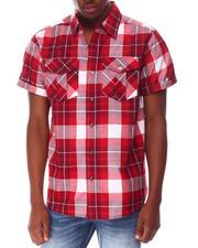 Buyers Picks - Yarn Dyed Box Plaid Plaid S/S Woven Shirt-2649421