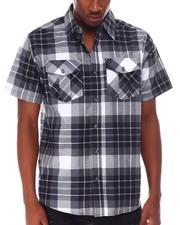 Buyers Picks - Yarn Dyed Box Plaid Plaid S/S Woven Shirt-2650214