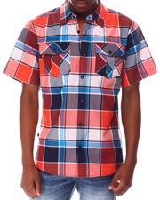 Buyers Picks - Triple Box Plaid SS Woven Shirt-2650250