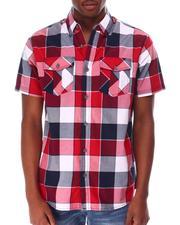Buyers Picks - Triple Box Plaid SS Woven Shirt-2650256