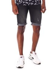 Buyers Picks - Black Wash Roll Up Denim Short-2650071