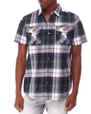 Buyers Picks - Prep Plaid SS Woven Shirt-2650232