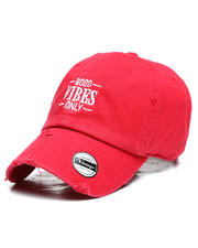 Dad Hats - Good Vibes Only Vintage Dad Hat-2649581