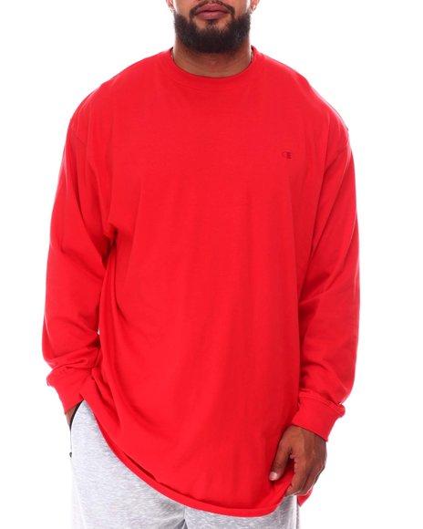 Champion - Long Sleeve Solid Shirt (B&T)