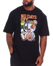 Men - No Days Off Bear T-Shirt (B&T)-2649619