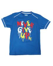 Arcade Styles - Never Give Up Tee (8-20)-2649138