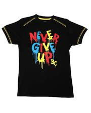 Arcade Styles - Never Give Up Tee (8-20)-2649143