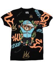 Arcade Styles - Hustle Bear Tee (8-20)-2649148