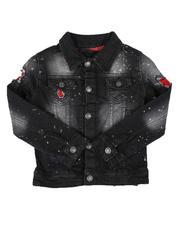 Outerwear - Paint Splatter Denim Jacket (4-7)-2649163