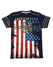 Arcade Styles - Americana Tee (8-20)-2650487