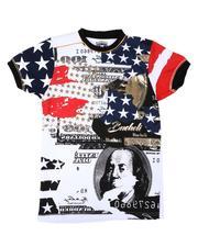 Arcade Styles - Americana Money Print Tee (8-20)-2650493