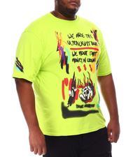 Rebel Minds - Graffiti Skull Graphic T-Shirt (B&T)-2650750